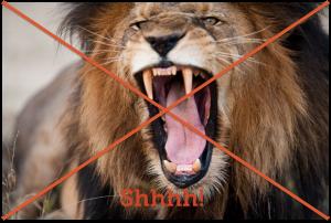 Roaring Lion - (c) edan/123rf.com